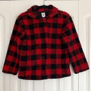 GAP Kids Buffalo Plaid Jacket